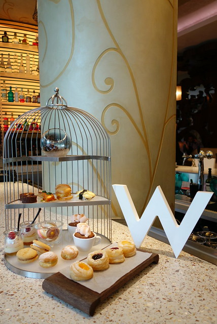WooBar's Drop the T High Tea Spread - W Singapore Sentosa Cove