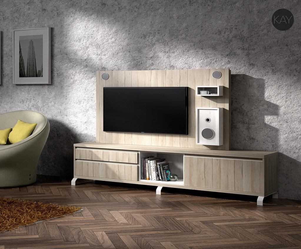 muebles tv muebles para la televisin paneles tv giratorios - Muebles Television