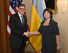 U.S. Department of the Treasury: Secretary Lew meets with Ukrainian Finance Minister Natalie Jaresko at Treasury on March 17, 2015 (Tuesday Apr 21, 2015, 4:06 PM)