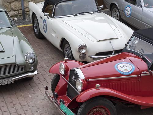 Alfa Romeo, Pegaso y Aston Martin.