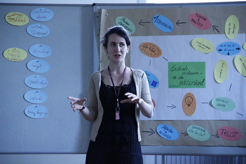 Präsentation Kleingruppen: inklusive Methoden