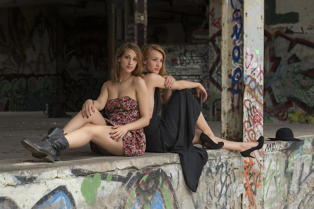 Christin und Nicole