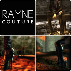 New Dirt thigh Boots by RAYNE Couture
