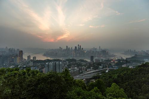 china skyline night river vista 中国 fullframe chongqing hdr 重庆 6d nanshan grundfos 南山 pamhule jensschott jensschottknudsen 佳能eos6d