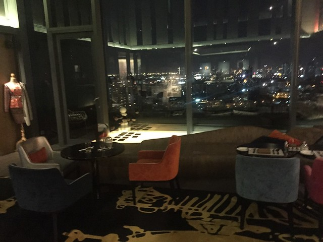 Accueil au signature Lounge -Sofitel So Bangkok