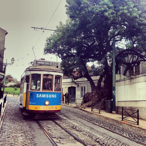 Tram 12. Lisbon. Portugal