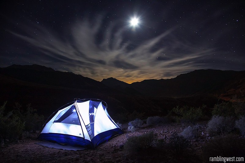 Virgin River Gorge Camping