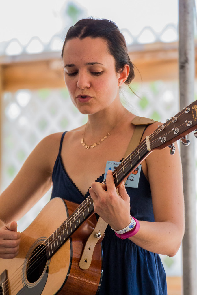 Ariana Hall Florida Folk Festival 2015