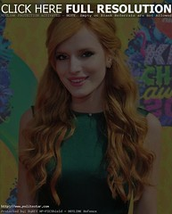 "Bella Thorne rocks the red carpet of ""Scream"" with her looks and style"
