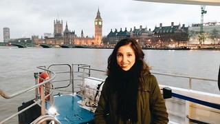 Indiana Oliveira, Londres
