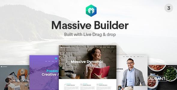 Massive Dynamic v3.4 - Business WordPress Theme