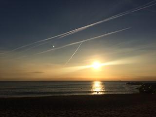 Image of Platja de la Mar Bella. barcelona catalonia catalunya catalonha cataluña kingdom spain reino de españa diagonal mar el front marítim del poblenou sant martí