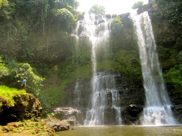 Waterfall in Bolaven Plateau, Laos