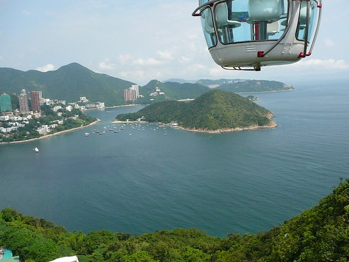 View from the cable car
