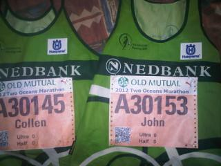 Official two oceans racing kit for john birgen and collen makaza by donnette1