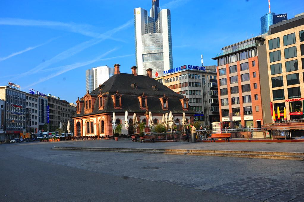 5 hours In Frankfurt