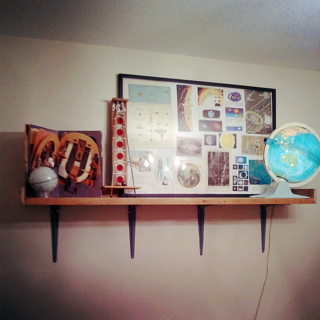 Jonas's Space Shelf