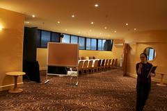 Portlight Room from speaker's position