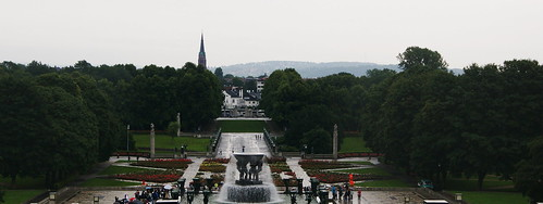 The Vigeland Sculpture Park (Vigelandsparken), Oslo Norway