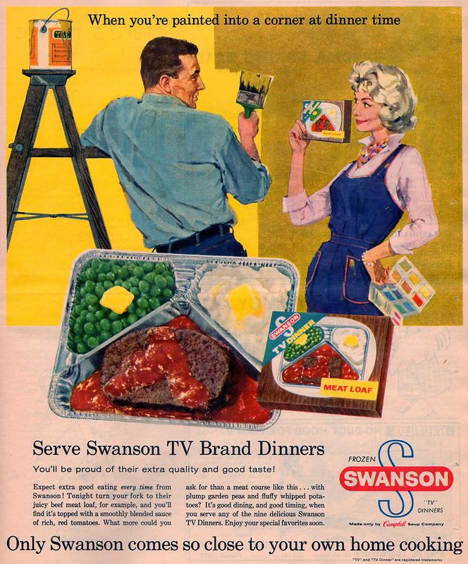 swanson tv dinner 1960