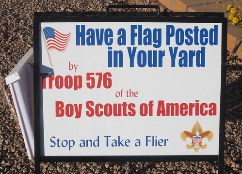 Flag Day Camelot Corner Tempe, AZ