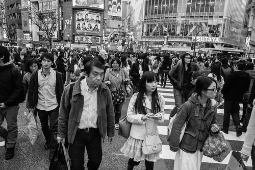 Shibuya Crossing, Tokyo 2012