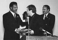 Rev. Jesse Jackson and Paul Elsner