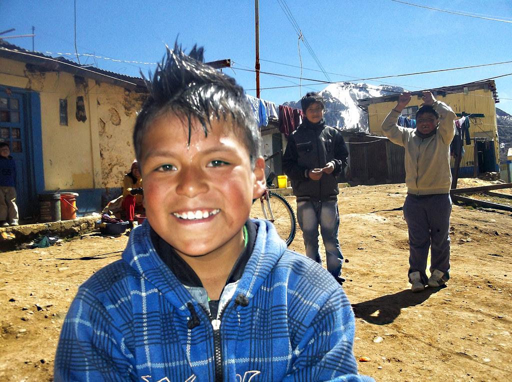 Juan Chambi Valladolid, 14 años