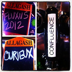 Yep, this is happening. Sooo good!! My fave is the Fluxus. #craftbeer #picstitch