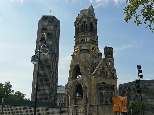 Iglesia derruida de Berlín