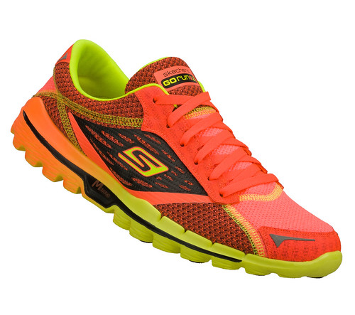 the running enthusiast Skechers GOrun2 RedLime