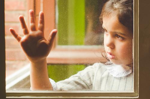 {Through my window} - Hand by marywilson's eye