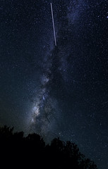The Milky Way and the ISS