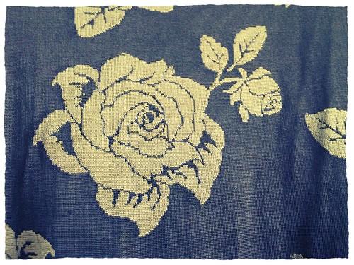 90s roses dress