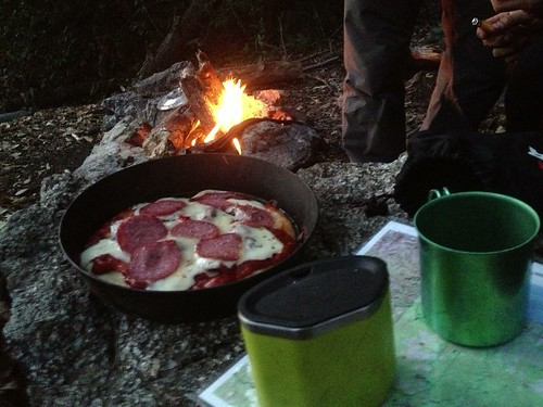 Campfire Backcountry Pizza