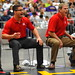 Coaches Shout Instructions by Chris Hunkeler