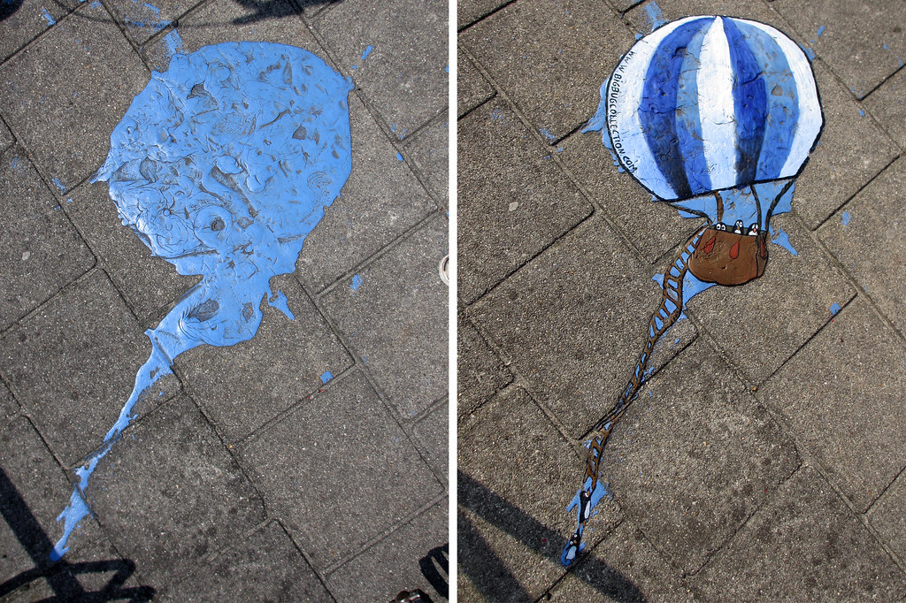 painted stain hot airballoon 7 before after