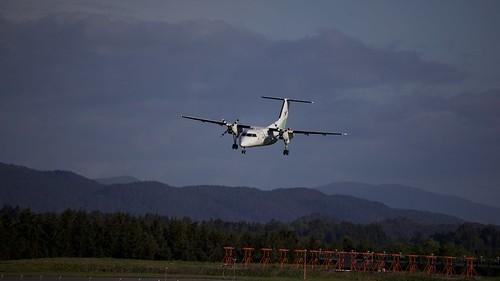 Aircraft (DH8A) silhouette