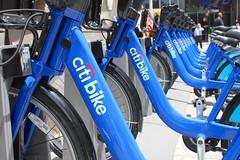 Docked Citi Bikes