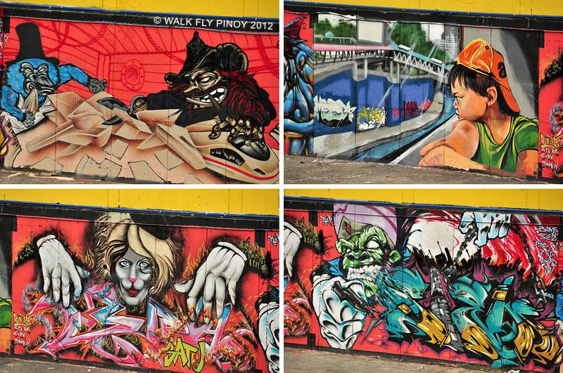 Graffiti Wall, Pasar Seni, Kuala Lumpur
