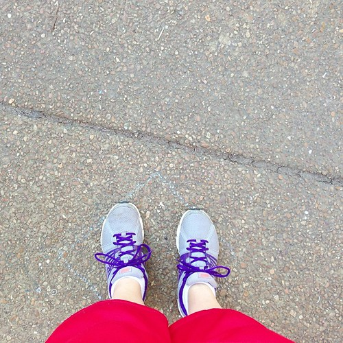First run today in about a month. Outside. In sun. Didn't die. #babysteps #pictapgo_app