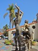 "Ilya Idelchik's vivacious ""Flamenco Dancers"" grace San Diego's Spanish Village Art Center at Balboa Park"