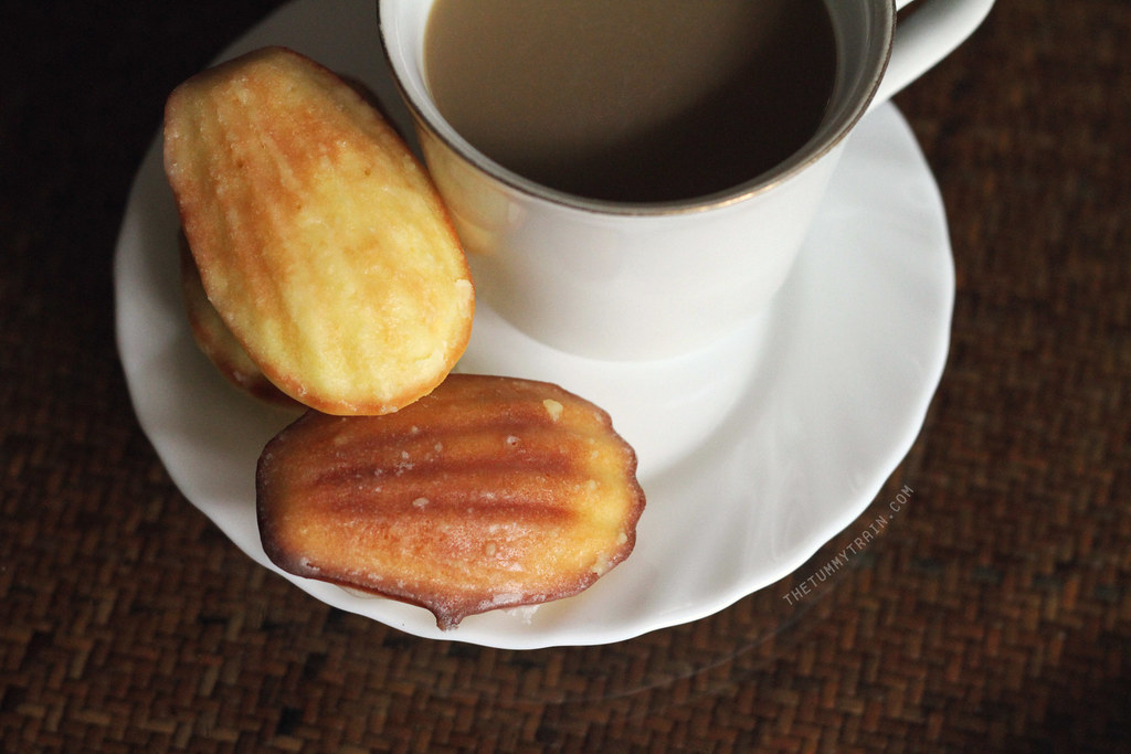 ... 7770a6cb99 b - The art of being okay + Lemon-Glazed Madeleines