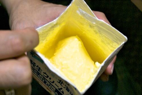 手作りバター