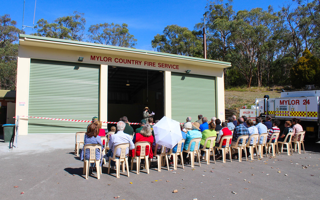 Mylor CFS Station Extension Opening