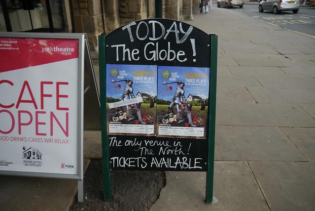 Sign at York Theatre Royal