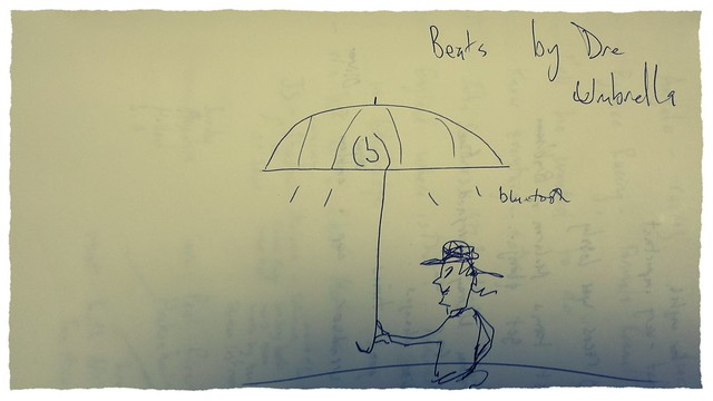 Sketch of the Bluetooth umbrella
