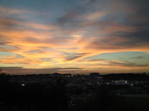 sunset kobe 夕焼け 神戸市