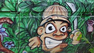 im Staube gelegen, allezeit die zeichnenden Künste so gut als Italien getriebene Graffiti 0210
