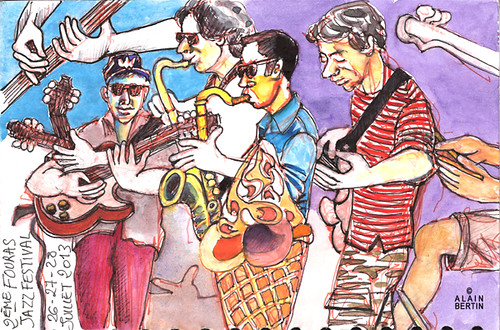 2eme Fouras Jazz Festival by alain bertin